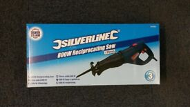 Reciprocating saw. 115mm with powerful 800w motor