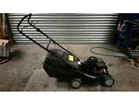 Lawn king petrol mower