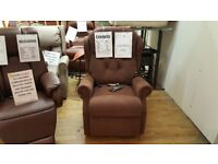 Celebrity Woburn Dual Motor Riser Recliner Chair + Heat & Massage Free Delivery*