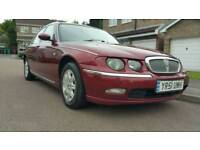 2001 ROVER 75 CLUB CDT 12 MONTHS MOT NO ADVISORIES + SERVICE HISTORY