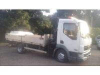 Low mileage daf hiab lorry