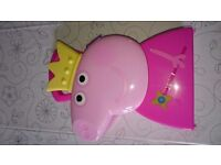 Peppa Pig Jewellery Case and Jewellery