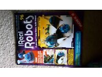 Real Robots Magazine & Parts Collection - Free