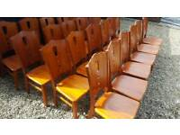 24x nice quality solidwood restraint chairs
