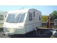 1999 crown 5 berth caravan