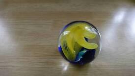 Job lot glass paperweight