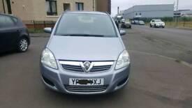 Vauxhall zafira executive 1.9cdti