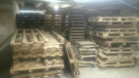100a of pallets 1.00 each