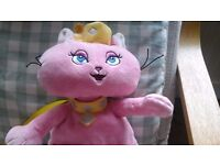 Princess cat back pack with crown