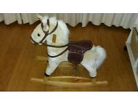 Rocking horse with optional stand, Summertown