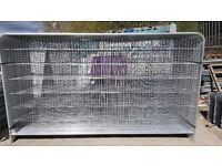 New Heras Panel Roundtop 2.0m(h) x 3.5m(w)