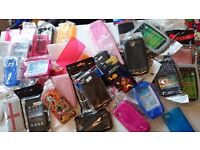 47 phone covers and cases, brand new, car boot job lot