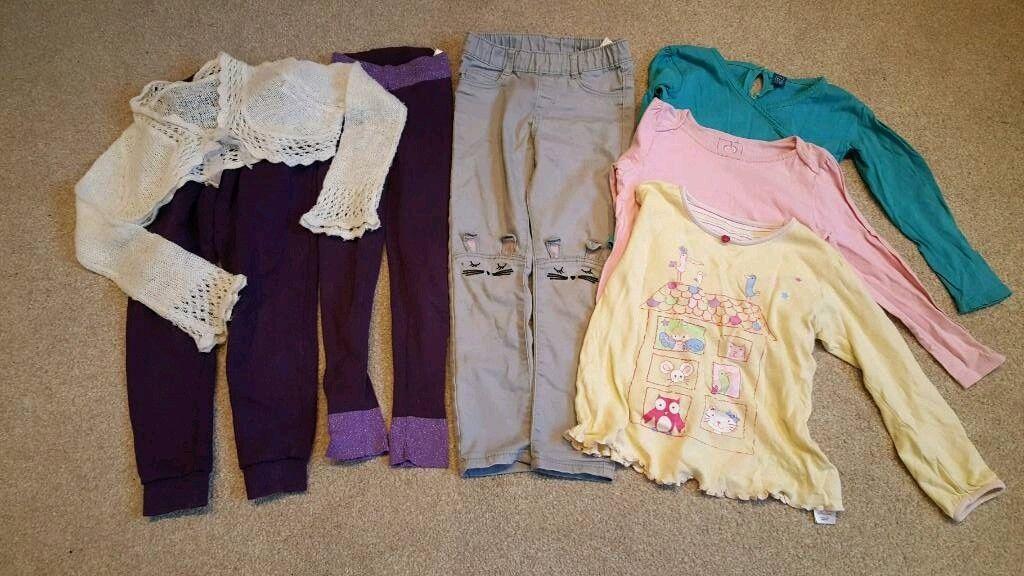 Bundle girl's winter clothes age 4-5