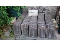 Roof Tiles - Marley. Approx 180. Good condition. Removed for dormer construction