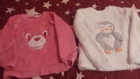 Girls pyjama jumpers