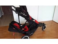 Phil and Teds Dot double buggy for sale