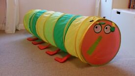 Caterpillar pop-up play tunnel - collect SK8 Cheadle Hulme