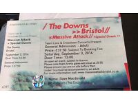 Massive Attack, Bristol tickets