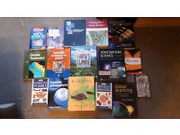 Good Quality University Geology / Climate Textbooks