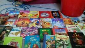 Selection of Disney store books