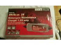 Motor bike battery charger