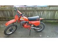 "Honda Cr80R elsinore 1980 ""red rocket"" , (not kx, rm, yz, sx) motocross, enduro, supermoto"