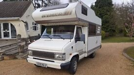 1992 Fiat Hymer Camp 52 LHD 4 Berth 2.5L Diesel New Cambelt and Service Motorhome Campervan