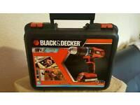 Black and decker 18v combi drill