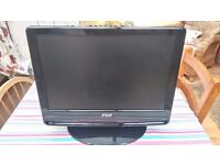 """F&H 19"""" Full HD 1080p LCD TV with DVD player"""