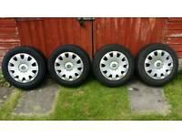 Steel wheels 5x100