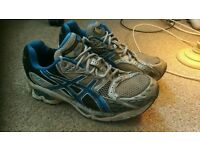 Asics trainers size 9 worn