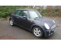 Mini Cooper Convertible in STUNNING Astro Black 2007