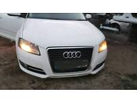 Audi a3 8p1 facelift complete front end in white 09-12