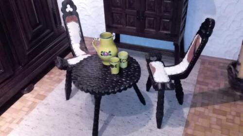 spanische bodega sitzgarnitur 3 tlg spanien gebr in bayern schweinfurt. Black Bedroom Furniture Sets. Home Design Ideas