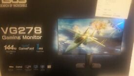 ASUS 27inch VG278 GAMING MONITOR 144Hz 1ms G-sync/AMD Sync compatibility. 1920x1080