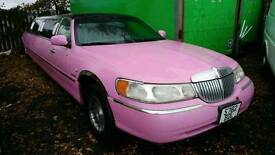Limouise pink town car swap px welcome