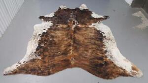 Cowhide Rug Brazilian Hair On Cow Hide Rugs Natural, Real, Chromium Tanned Cow Hyde Rug