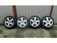 SET OF 17 INCH VW/AUDI ALLOYS 5X112 £90