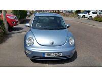 Lovely Metalic blue VW beetle for sale