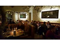 Experienced waiting staff required for busy Italian restaurant in Bushey