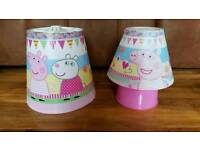 Peppa Pig Lamp and Lightshade