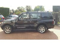 MITSUBISHI SHOGUN 3.2 Diesel Leather interior VERY CLEAN