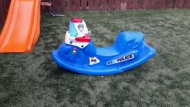 Little Tikes Police Rocker