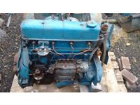 Fordson Major Engine,with pump,clutch,was working before taken out of tractors.