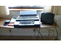 """OLIVETTI ETV240 ELECTRONIC LONG CARRIAGE VIDEO TYPEWRITER WITH 12"""" SCREEN"""