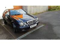 Mercedes clk 320 12monts mot
