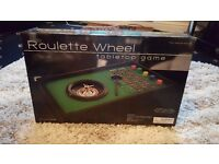 Roulette wheel *never been used*