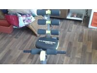 Wonder core exerciser machine