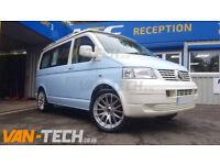 """20"""" Wolfrace Munich alloy wheels fit VW Transporter T5"""