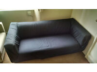 IKEA - Double sofa, two seat sofa with cover